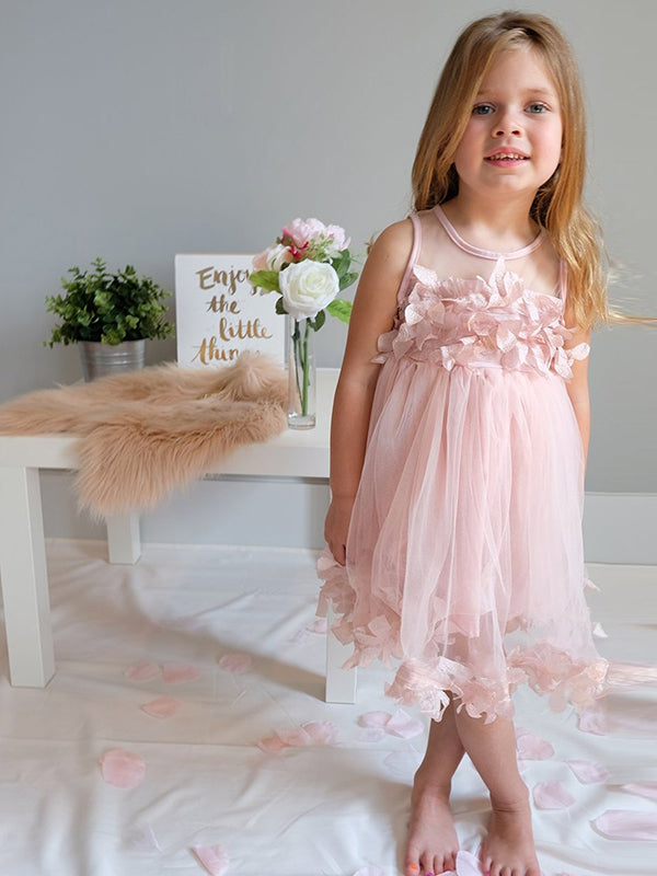 2018 Simple Flower Girl Dresses Cute Short Cheap Flower Girl Dresses #AB001