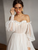 Mesh Wedding Dress Bohemian Off Shoulder Beach Bridal Gown DM015