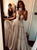 Mryarce Unique Wedding Dress Sleeveless V Neck Boho Ruched Bridal Gowns DM018