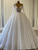 Ball Gown Plus Size Wedding Dress Sequins Vintage One Shoulder Wedding Gowns DM035