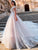Appliques Lace Court Train A-Line Wedding Dresses Plus Size Luxury Princess Bride Gown