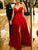 Chic Satin Prom Dress A Line Long Sleeveless Evening Dress DM058