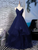 Tulle Cheap Sleeveless Prom Dress African A Line Evening Dress DM073