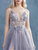 Chic A Line Tulle Prom Dresse Spaghetti Straps Long Evening Dress DM096