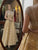 Gold Lace A Line Prom Dress Gorgeous Evening Dress With Beads DM120