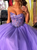 Sweetheart Tulle Ball Gown Prom Dress Sleeveless Custom Evening Dress DM128