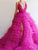 V Neck Tulle A Line Prom Dress Vintage Custom Evening Dress DM132