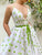 Chic A Line V Neck Prom Dress Cheap Custom Evening Dress DM136