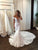 Off-the-shoulder Rich Lace Bridal Gown with Mermaid Train DM148
