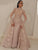 Muslim Evening Dress Mermaid Long Sleeves Lace Long Evening Gown DM200
