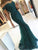 Mermaid Lace Prom Dress Green Cheap Long Prom Dress #JKL141