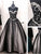Black Tulle Prom Dress A Line Cheap Long Prom Dress #JKL361