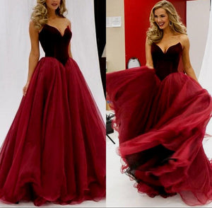 2017 Prom Dress,Gorgeous Flower V-neck Long Colors Prom Dress/Evening Dress MK507 - DemiDress.com
