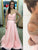 A-line Long Prom Dress Ruffle Prom Dress Beading Evening Dress MK575