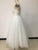 Vintage Ivory Wedding Dress Lace Ball Gown Cheap Wedding Dress # MK044