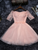 A-line Homecoming Dress Off-the-shoulder Short/Mini Prom Drsess Juniors Homecoming Dresses SKY013