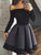 Black Homecoming Dress 2017 Short Prom Drsess Juniors Homecoming Dresses SKY109