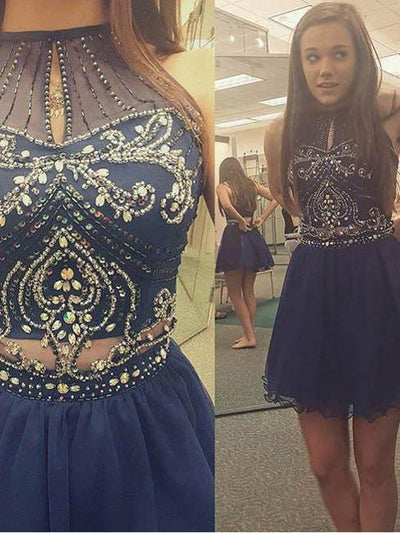 A-line Homecoming Dress Short Prom Drsess Juniors Homecoming Dresses SKY121