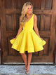 A-line Homecoming Dress Short Prom Drsess Juniors Homecoming Dresses SKY126