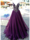 A-line Prom Dress Spaghetti Straps Chiffon Prom Dresses/Evening Dress SKY179
