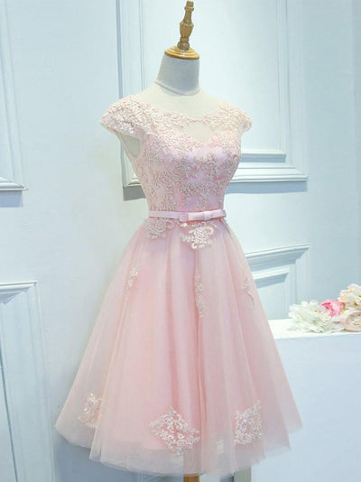 A-line Homecoming Dress Short/Mini Prom Drsess Juniors Homecoming Dresses SKY193