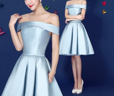 A-line Homecoming Dress Short/Mini Prom Drsess Juniors Homecoming Dresses SKY287