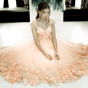 Homecoming Dress 2017 A-line Straps Tulle Short Party Dresses SKY371