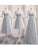 A-line Scoop Long Prom Drsess Evening Appliques Party Dresses SKY387