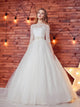 Lace Wedding Dress,Romantic Wedding Dress,White Wedding Dress,Wedding Gowns SKY397