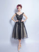 A-line Bateau Short Prom Drsess Juniors Homecoming Dresses SKY446