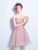 A-line Off-the-shoulder Short Prom Drsess Juniors Homecoming Dresses SKY452