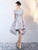 A-line Off-the-shoulder Short Prom Drsess Juniors Homecoming Dresses SKY475