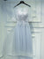 2017 A-line Scoop Tulle Prom Drsess Homecoming Dress SKY488