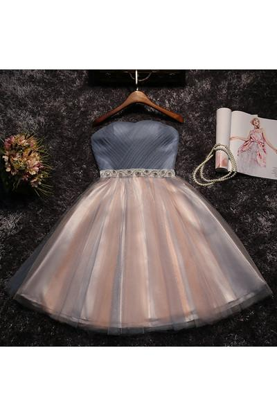 2017 A-line Sweetheart Tulle Prom Drsess Homecoming Dress SKY515