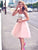 Two Pieces A-line Short Prom Drsess 2017 Homecoming Dresses SKY541