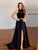 Two Pieces A-line Scoop Prom Drsess 2017 Evening Gowns SKY580