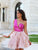 A-line One Shoulder Homecoming Dress Organza Short Prom Drsess SKY809