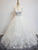 Charming A-line Scoop Floor-length White Prom Drsess Evening Gowns SKY982