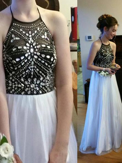 2017 Charming Prom Drsess Evening Dress Long Party Dress Sky686 - DemiDress.com