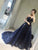 A-line Strapless Sweep/Brush Train Sleeveless Tulle Prom Dress/Evening Dress # VB022