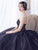 A-line Sweetheart Court Train Sleeveless Tulle Prom Dress/Evening Dress # VB027