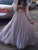 Two Piece Prom Dress Simple Modest Elegant Cheap A Line Long Prom Dress #VB061