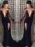Sheath/Column Bateau Floor-length Long Sleeve Chiffon Prom Dress/Evening Dress # VB083