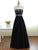 A-line Strapless Floor-length Sleeveless Tulle Prom Dress/Evening Dress # VB1014