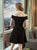 Cheap Homecoming Dress Off-the-shoulder Mini Simple Homecoming Dress/Short Dress # VB1068