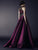 2018 Prom Dress High Neck Floor-length Rhinestone Purple Satin Prom Dress/Evening Dress # VB1086 - DemiDress.com