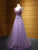 2018 Prom Dress V-neck Floor-length Beading Lavender Long Prom Dress/Evening Dress # VB1104 - DemiDress.com