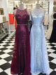 Burgundy Tight Prom Dress Fitted Sheath Unique Long Cheap Prom Dress # VB1317