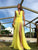 Long Prom Dress A-line Simple Modest Beautiful Yellow Cheap Prom Dress # VB1342