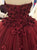 2018 Long Prom Dress Ball Gown Cheap Modest African Burgundy Prom Dress # VB1361 - DemiDress.com